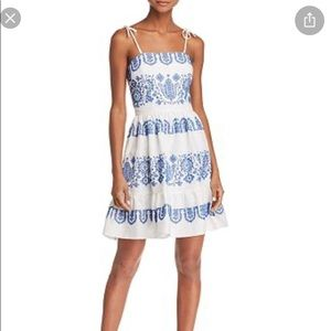 MILLY Womens Lace Dress